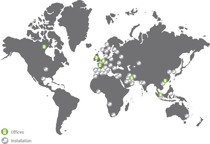 Weltweite Kontakte