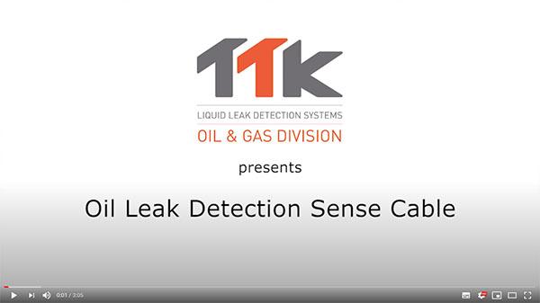 TTK Oil Leak Detection Sensorkabel FG-OD Live-Demonstration (Englisch)